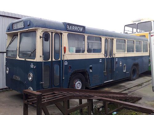 Barrow Corporation Bus Fleet Number 102  C2 B7 Barrow Corporation Bus Fleet Number 104