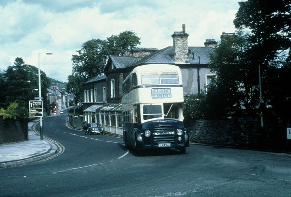 Heo273 Ulverston And Is Turning Right To Join The Old A 590 To Travel To Barrow Straight On Is Lightburn Road